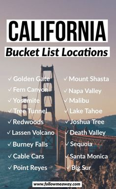 If you are looking for the perfect Northern California road trip itinerary, this is it! From Volcanoes and waterfalls to Redwoods and coastal views, a Northern California road trip has something for everyone! You can do this road trip itinerary in as long Vacation Ideas, Vacation Trips, Vacation Travel, Beach Travel, Disney Travel, Italy Vacation, Family Vacations, Cruise Vacation, Disney Cruise