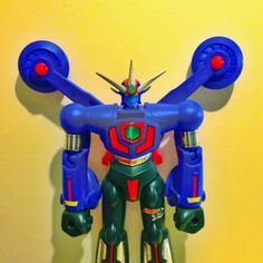 Jumbo Machinder Getta Go. Made by Yutaka Toys 1991-1993 The last of the Getta Robo series.