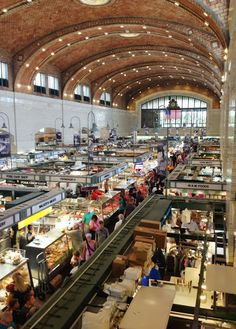 Road Trip: West Side Market in Cleveland, OH & Lake View Cemetery