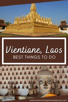 Vientiane is the capital of Laos. When you go here, you'll notice the mixed French-colonial architecture of its Buddhist Temples such as the popular 16th-century Pha That Luang. This city has a lot of notable shrines and temples that tourists love going to. To get to know more about the Laotian culture, this is the place you should be. Learn more about Vientiane and the places you can visit here below.