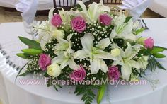 #sweetheart table #wedding #flowers Affordable wedding florist in Cancun, Playa del Carmen and Riviera Maya