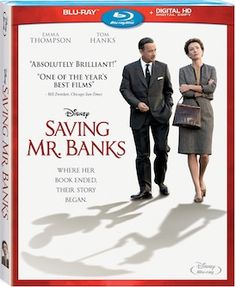 Saving Mr. Banks Arrives On Blu-Ray And DVD March 18th!