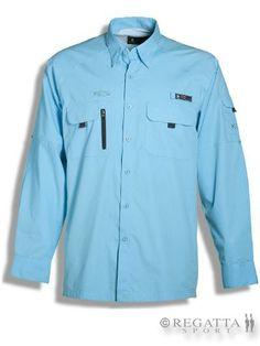 Cuando llevas puesta una #Camisa #Aventura estás protegido contra la radiación solar ultravioleta UV #RegattaSport