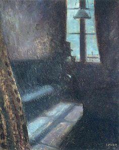 «Ночь в Сен-Клу» (1890), Эдвард Мунк
