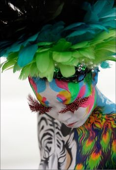 The international body painting festival~