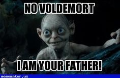 Awesome Meme in http://mememaker.us: Gollum Is His Dad!