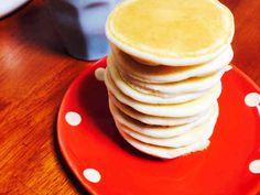 小麦・卵不使用!ふわふわ米粉パンケーキ♡の画像