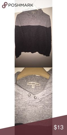 Hooded sweater Calvin Klein hooded sweater. Very comfortable and in great condition. Only worn a handful of times. Calvin Klein Jeans Sweaters