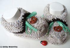 +Babyschühchen+Babyschuhe+fürs+Oktoberfest+tracht+von+strickliene+auf+DaWanda.com