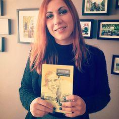 Giulia con Lollò Cartisano, l'ultima foto alla 'Ndrangheta #face4books #piulibri16 #standH05 #nonchiamatelasoloeditrice #lollocartisano #graphicnovel #libeccio dal 7 all'11 dicembre #piulibripiuliberi #roma