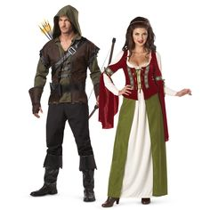 Renaissance & Medieval Couple Costumes from BuyCostumes.com