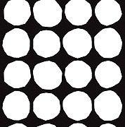 Kivet cotton fabric from Marimekko -- for my Euro-sized pillows
