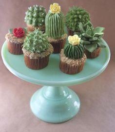 Cupcakes Suculentas Plantas paso a paso