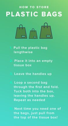 Here's how to store and organize plastic bags and shopping bags - we know you've got a lot of them lying around or shoved in drawers! Well, make your life easier with our suggestions. Click through for more.