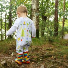Adventure Awaits - Romper by HatCH Ltd. Camping, tents, trees, outdoors, little explorer, stripes, striped, children's clothing, baby clothing baby fashion toddler fashion celebrity style shop now