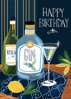 Leading Illustration & Publishing Agency based in London, New York & Marbella. Happy Birthday Hearts, Happy Birthday Man, Birthday Cheers, Happy Birthday Wishes Cards, Birthday Blessings, Bday Cards, Birthday Greeting Cards, Birthday Fun, Happy Birthday Typography