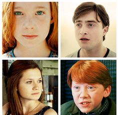 Accurate eye colors from Harry Potter characters