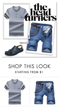 """""""NEWCHIC 47.//"""" by mersy-123 ❤ liked on Polyvore featuring men's fashion and menswear"""