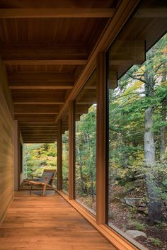 Image 15 of 15 from gallery of The Bear Stand / Bohlin Grauman Miller + Bohlin Cywinski Jackson. Photograph by Bohlin Cywinski Jackson Japanese Home Design, Traditional Japanese House, Japanese Homes, Japanese Interior, City Living, Living Room, Mid Century House, House In The Woods, House In Nature