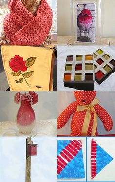 Red, Red, Red!  by Ruth Ferrari on Etsy--Pinned with TreasuryPin.com