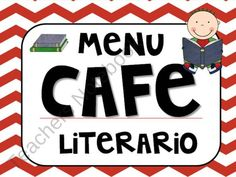 spanish CAFE menu  product from Building-Bridges on TeachersNotebook.com