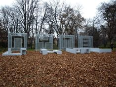 The Budapest, Hungary based Urban Landscape Group was awarded first prize for their outdoor art creation located in the campus garden of the University of West Hungary in Sopron. The Art Jury described the team's project as an artwork novelty closing a yet unfilled gap in contemporary art. http://www.vtcs.hu/projektek