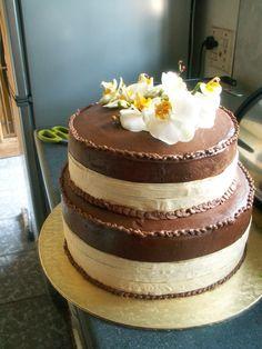 Chocolate Brownie Wedding Cake