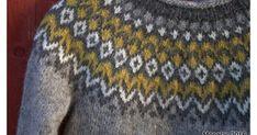 Pitkään olen halunnut myös itselleni islantilaisen Riddarin ja tässä se nyt on! Aiemmin syksyllä ihastuin harmaan ja keltaisen sävyihin ja ... Jaguar, Men Sweater, Island, Wool, Knitting, Sweaters, Fashion, Vestidos, Knit Cardigan
