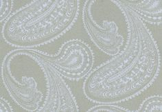 Rajapur (66-5039) - Cole & Son Wallpapers - A large intricate and lace-like delicate lilac paisley design on a soft grey background – perfect for feature walls. Available in other colours – please ask for a sample for a true colour match. Paste-the-wall product.