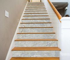 White Feathers Stairs Risers Decoration Photo Mural Vinyl Decal Wallpaper US Stair Paneling, Stair Walls, Stair Risers, Banisters, Vinyl Panels, Vinyl Doors, Tiles Texture, Marble Texture, Texture Art