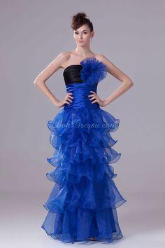 Low Back Prom Dress  Low Back Prom Dress