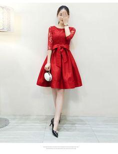 Pattern Lace Midi Dress