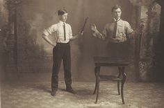 William R. Holmes, as a Magician | by Wisconsin Historical Images