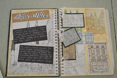 - urban landscapes - ruth allen artist research a level art sketchbook, sketchbook layout Textiles Sketchbook, Gcse Art Sketchbook, Architecture Sketchbook, Sketchbook Ideas, A Level Art Sketchbook Layout, Sketchbook Inspiration, Urban Landscape, Landscape Art, Landscape Design