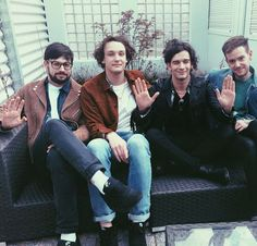 //the 1975 xx Matthew Healy, George Daniel, Manchester, Adam Hann, Pop Rock, Music Bands, Music Is Life, Cool Bands, Music Artists