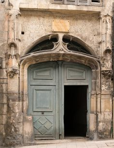 https://flic.kr/p/z4VeDB | Porte du Prieur de la Magdelaine (XVIe s.) La Charité-sur-Loire (Nièvre, France)