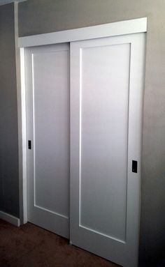 Bypass Closet Doors | Bypass Closet Doors | Do It Yourself Home Projects  From Ana White Pin Now Read Later | Bathroom | Pinterest | Closet Doors, ...