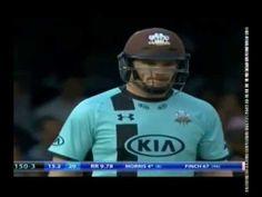 Middlesex vs Surrey t20 match highlights ! aeron finch batting