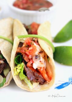 Korean-Style Beef and Kimchi Tacos | cHowDivine.com. A great recipe to use Fresh Express Shreds!