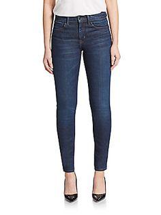 Helmut Lang Ankle Skinny Jeans
