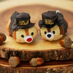 Three new sets are coming soon to Japan including the Chip 'n' Dale Anniversary Tsum Tsum box set, Rescue Rangers Tsum Tsum box set, and a new UniBEARsity Tsum Tsum Sets, Disney Tsum Tsum, Disney Pixar, Rescue Rangers, Tsumtsum, Chip And Dale, Kawaii, Disney Merchandise, Disney Love