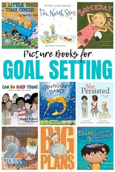 Are you ready to try goal setting with your students this year, but not sure how to start? Grab an inspiring picture book to help set the tone! Here are some picture books for goal setting that might just inspire your students to dream big! Homework Incentives, Whistle For Willie, Affirmations For Kids, Teaching Strategies, Teaching Tips, Student Behavior, Leader In Me, Classroom Language, Student Motivation