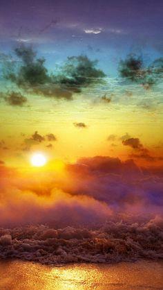 Sunrise maybe sunset