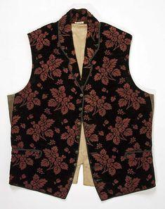 Vest of silk, 1830-49, European. The Met