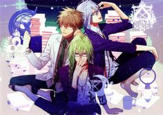 "Kent & Ukyo & Ikki ""Amnesia: memories"""