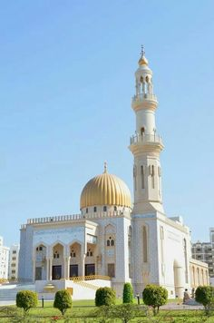 Al-Zawawi Mosque, Al Khuwair, Muscat, Oman Mosque Architecture, Art And Architecture, Computer Architecture, Enterprise Architecture, Temples, Beautiful Mosques, Unique Buildings, Islamic World, Islamic Art