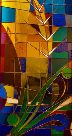 Stained Glass  by Ron Mead
