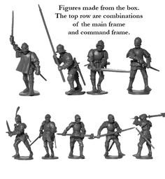 WR 50 Foot Knights 1450-1500, Perry Miniatures