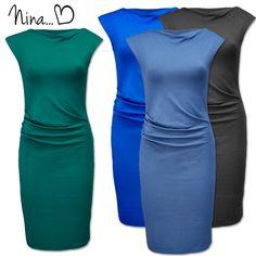 Met trots presenteren wij ons nieuwste SRNDPTY model: Nina ♥ | http://www.dressesonly.nl/jurk-nina-petrol-srndpty.html | #dress