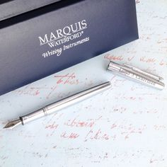 Personalized Waterford Claria Pen -- great for Boss's or Administrative Professionals' Day